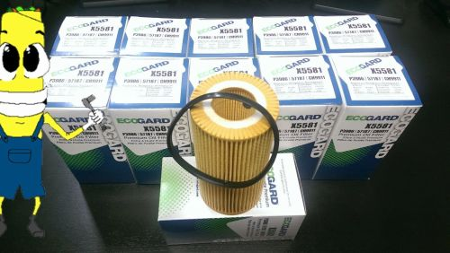 small resolution of premium oil filter for volvo c70 with 2 5l engine 2006 2013 case of 12 for sale online ebay