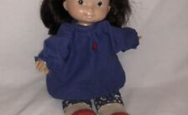 Vintage 1978 Fisher Price Jenny 13 Lapsitter Doll Plush