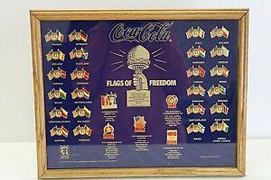 Wengeroff Enterprise Coca Cola Flags of Freedom Limited Edition Enameled Pin Set   eBay
