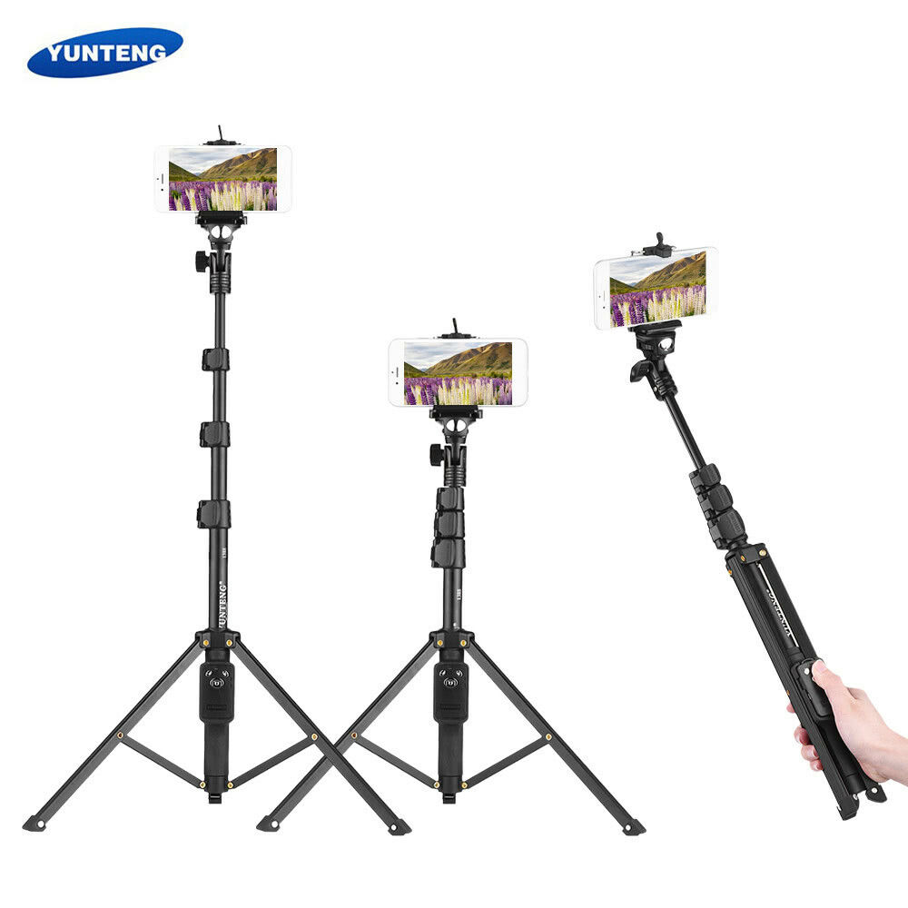 YUNTENG VCT-1688 2 in1 Tripod Monopod Stand + Remote F