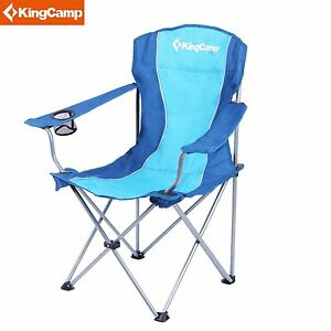 lightweight folding chairs hiking chair massager pad kingcamp portable camping with mesh image is loading