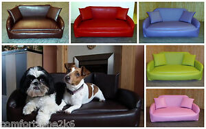 leather or fabric sofa for dogs 5 piece modular sectional costco xxl zippy faux dog bed deep reflex mattress wipe image is loading