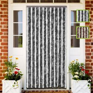 details sur rideau de porte rideau anti mouche anti insecte multi taille multicolore