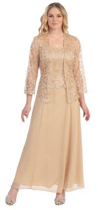 Wedding Event Dress /Jacket Mother of Bride/Groom Long