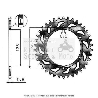 541420650#22 Gear Ring S Ac P520-D50 Husqvarna TC 450 04
