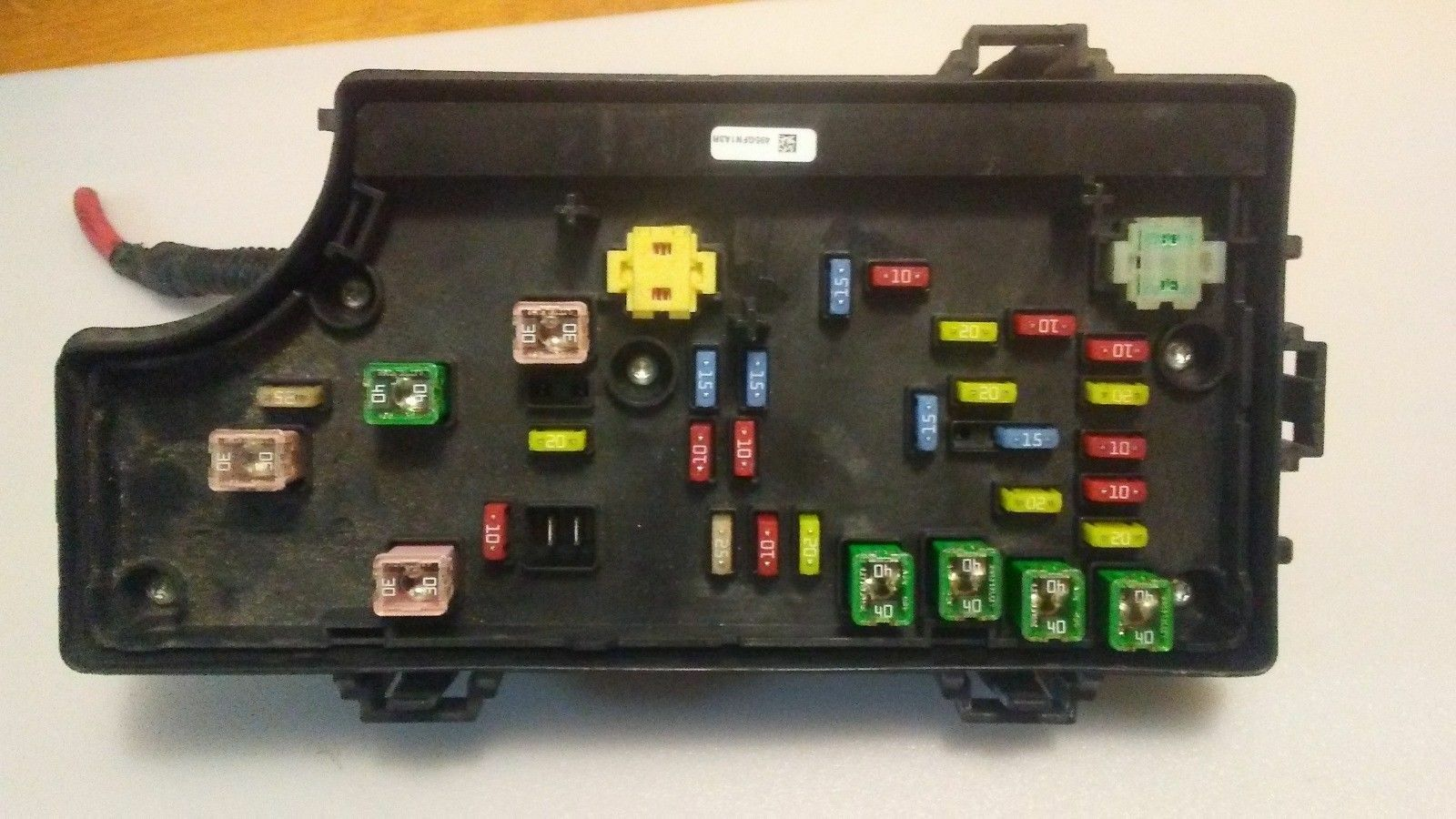 hight resolution of 2007 2010 chrysler sebring tipm totally integrated power fuse box p04692168ai for sale online