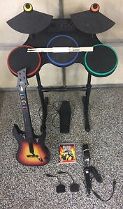 Guitar Hero Ps3 Bundle : guitar, bundle, PlayStation, Guitar, World, Bundle, DONGLES, Drums, TESTED