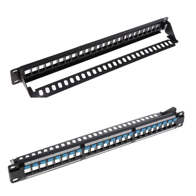 Cable Matters Rack or Wall Mount 24-Port Cat6 /Cat 6