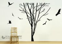 Giant Tree Branch Trunk Wall Art Stickers Removable Vinyl ...