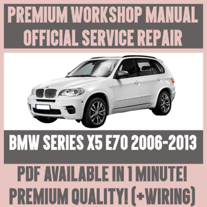 bmw x5 e70 tail light wiring diagram roller coaster kinetic and potential energy workshop manual service repair guide for 2006 2013 image is loading amp