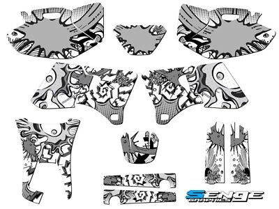 1998 1999 2000 2001 2002 WR 250 426F GRAPHICS KIT YAMAHA