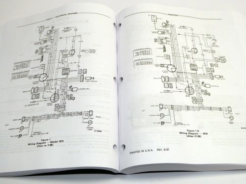 small resolution of ford 1010 series 1910 2110 tractor service manual repair shop book w 1700 ford tractor wiring diagram 1910 ford tractor electrical wiring diagram