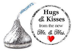 216 HUGS AND KISSES WEDDING FAVORS HERSHEY KISSES KISS