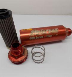 16 inline oil fuel filter 60 micron peterson 400 series w bp race 031617 4 [ 1600 x 1200 Pixel ]