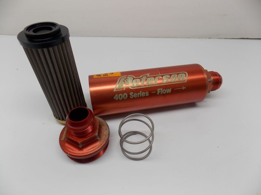 medium resolution of  16 inline oil fuel filter 60 micron peterson 400 series w bp race 031617 4