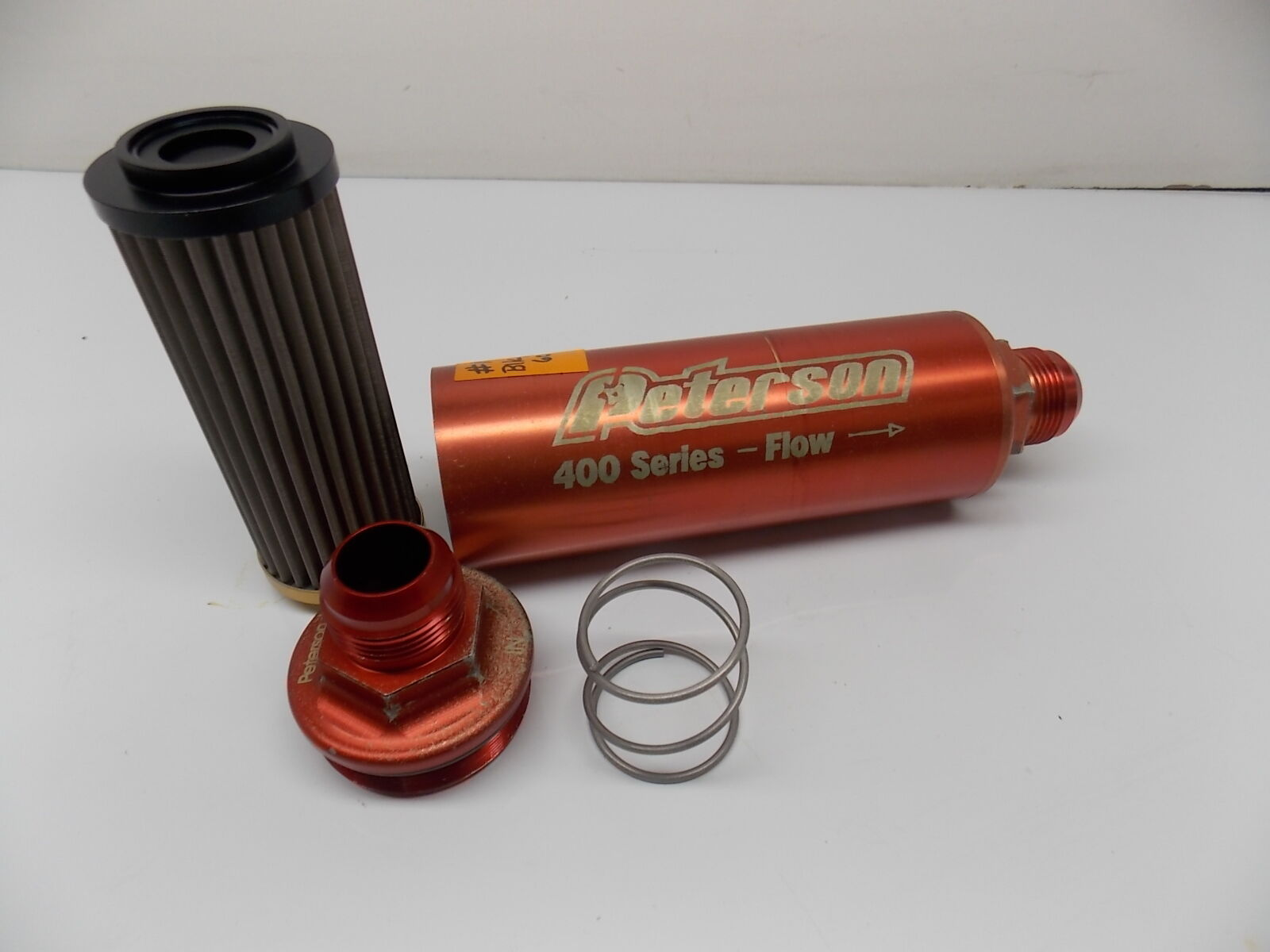 hight resolution of  16 inline oil fuel filter 60 micron peterson 400 series w bp race 031617 4