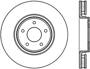 C-TEK Standard Disc Brake Rotor fits 2005-2007 Infiniti
