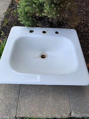vintage cast iron kohler bathroom sink ebay
