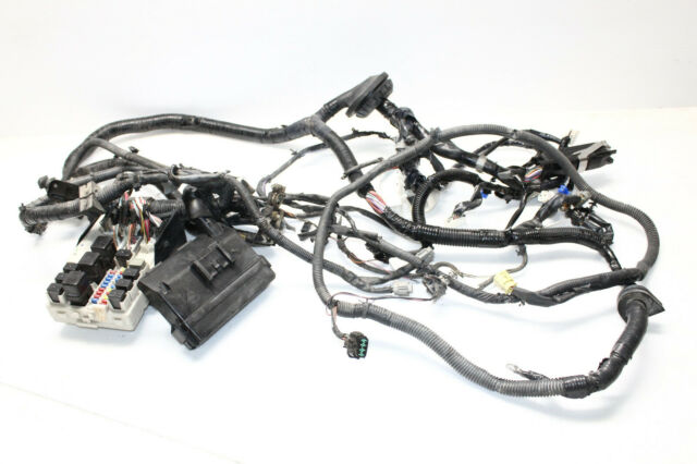 2004 INFINITI G35 MANUAL COUPE ENGINE BAY WIRE HARNESS