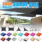 Oye Hoye 7 X 13 Sun Shade Sail Beige Rectangle Waterproof Polyester Beige For Sale Online Ebay