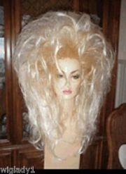 sin city wigs long sexy frosted
