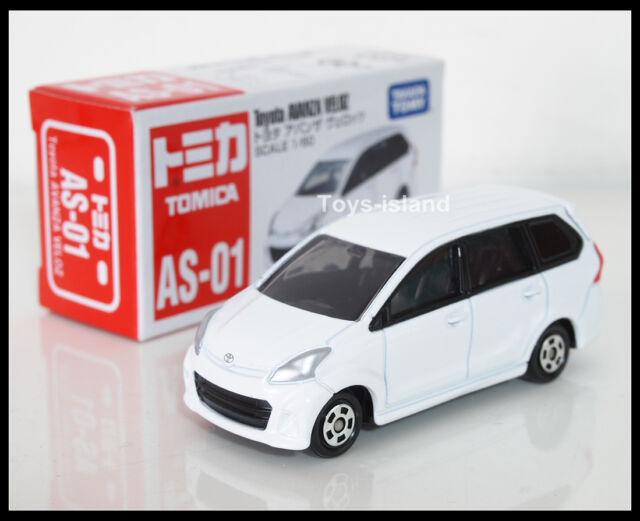 diecast grand new avanza all corolla altis 2019 takara tomy tomica no as 01 toyota veloz scale 1 60 ebay white sold in asia market