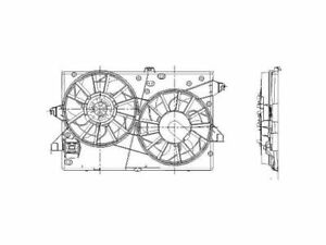 For 1999-2002 Mercury Cougar Auxiliary Fan Assembly