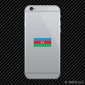 azerbaijani flag cell phone