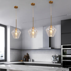 Glass Pendant Light Kitchen Modern Ceiling Lights Bar Lamp Home Pendant Lighting 6165439887883 Ebay