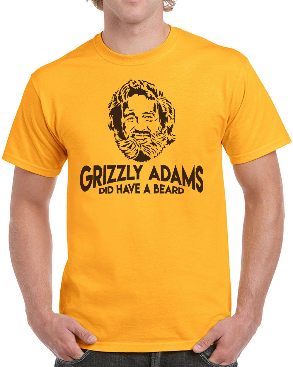 Grizzly Adams Did Have A Beard : grizzly, adams, beard, Grizzly, Adams, Beard, T-shirt, Funny, Sandler, Movie, Quote