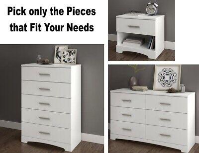 white bedroom furniture sets dresser nightstands chest dressers drawer set new ebay