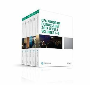 CFA Curriculum 2017 2017 CFA Program Curriculum By CFA Institute