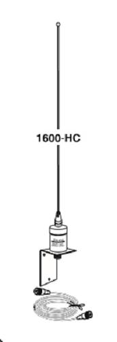 1600HC Marine Antenna 6 dBd SO239 base with RG58 coax