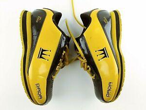 Dada Supreme Men's Size 5 (EUR 35.5) Shoes Sneakers Black Gold / Yellow #417   eBay