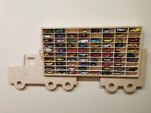 details zu for hot wheels display case matchbox storage cabinet shelf lorry wallmount rack