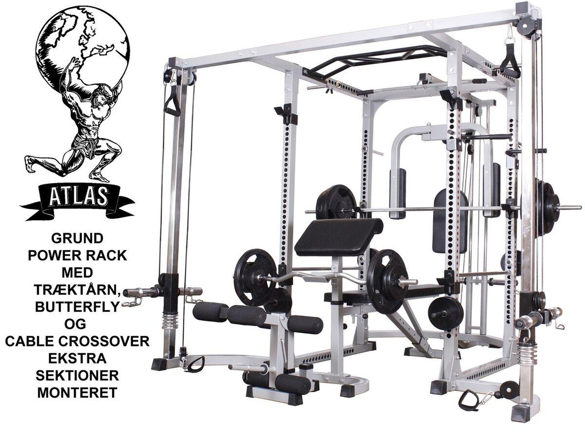 Multistation, bodybuilding sæt, – dba.dk