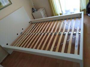 details sur lit double ikea malm 140x200 les mesures internales