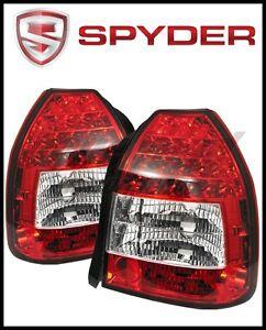 2000 Honda Civic Led Headlights : honda, civic, headlights, Honda, Civic:, Civic, Lights