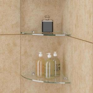 details sur etagere murale simple pour cabines de douche etageres en verre trempe 8mm