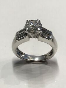 Vintage Ring Sterling Silver w/CZs Cubic Zirconia FAS Thai Designer Signed 925   eBay