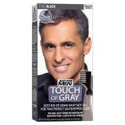 men touch of grey black