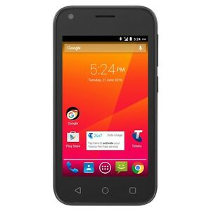 Telstra ZTE 4GX Smart A112 4G LTE Quad Core Black Unlocked Mobile Phone