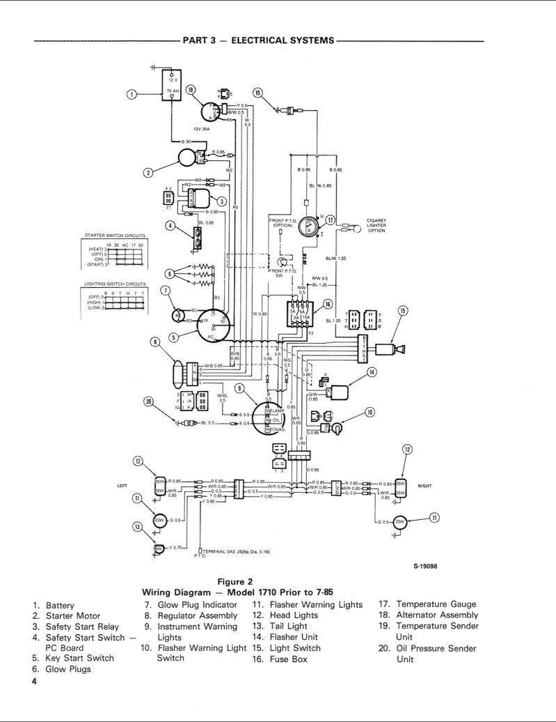Wiring Manual PDF: 1710 Ford Tractor 12v Wiring Diagram