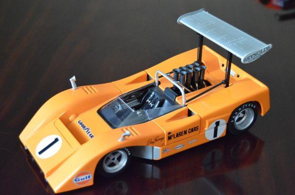 1 1967 Mclaren Chevy Race Car Vintage F1 Gt Gulf 24 Sport 18 Carousel Orange 12 Diecast Crazy