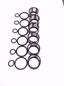 FUEL INJECTOR REPAIR KIT O-RINGS FILTERS FITS 1996-2004