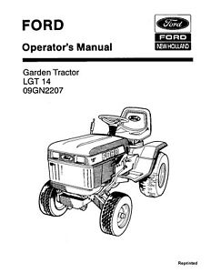 NEW HOLLAND Ford SE4485 Lawn Garden Tractor 14 OM