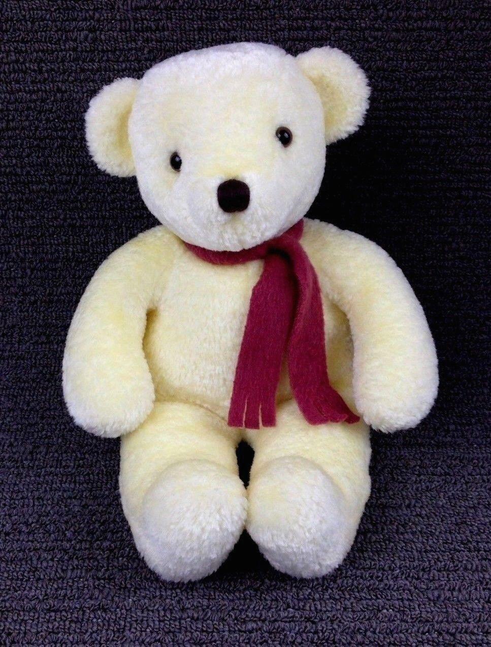 neal sofaworks teddy sofa style dog bed mary meyer vintage 1999 bear 13 plush stuffed animal yellow