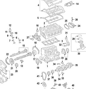Audi A4 B7 Golf Jetta Passat 2.0T FSI Engine Chain