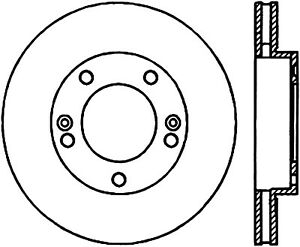 C-TEK Standard Disc Brake Rotor fits 2002-2005 Kia Sedona