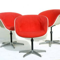 Eames Chair Herman Miller Amazon Desk Charles 3 Shell Chairs Fiberglass 50s 60s Design Image Is Loading